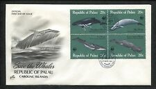 ArtCraft 1983 First Day Cover Save The Whales Republic of Palau Caroline Islands