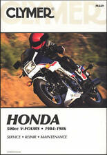 1984-1986 Honda VF500 VF 500 V30 Magna Interceptor CLYMER REPAIR MANUAL M329