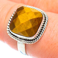 Tiger Eye 925 Sterling Silver Ring Size 8.75 Ana Co Jewelry R52687F