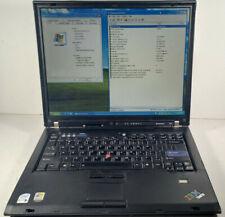 IBM Thinkpad T60 Core 2 Duo 2.00GHz/2.0GB/60GB/Windows XP PRO
