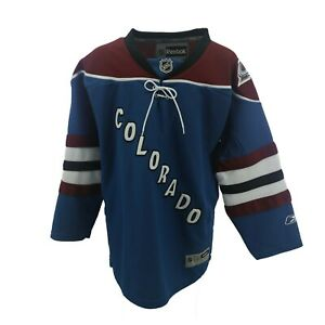 Colorado Avalanche Official NHL Reebok Children's Kids Youth Size Jersey New