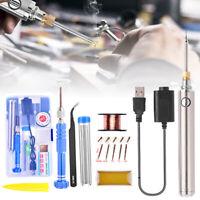 1 set Wireless Charging Battery Soldering Iron Welder with USB Welding Tool