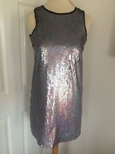 Asos Sequinned Party Dress, Size 8, Brand New With Tags!