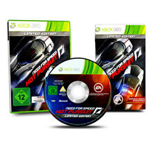 Xbox 360 Jeu Besoin de Vitesse Hot Pursuit Limited Édition dans Ovp avec Manuel