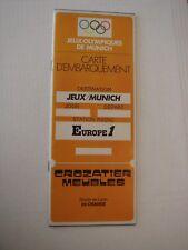 JEUX OLYMPIQUES DE MUNICH - 1972