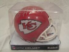 Brandon Flowers Autographed Kansas City Chiefs Mini Helmet - PSA Cert