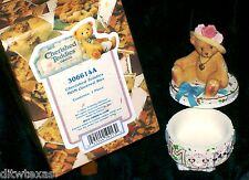 Precious Moments Cherished Teddies Mom Covered Box #306614A Yr.2001 W/Packaging