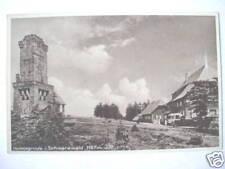 3251 AK Hornisgrinde Schwarzwald Turm Häuser Autos 1925