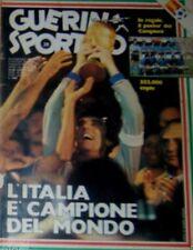 GUERIN SPORTIVO=N°28 1982=L'ITALIA E CAMPIONE DEL MONDO