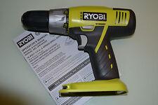 "New 18 volt Ryobi P271 1/2"" Drill use One+ 18v P100 P102 P103 litihum NiCd"