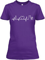 Cat Heartbeat S And Gildan Women's Tee T-Shirt