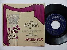 LISZT Rapsodie hongroise N2 Orchestre Sinfonietta vox Dir: ERNST GRAF VIP 45600
