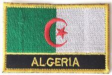 Algérie Brodé coudre ou patch thermocollant BADGE