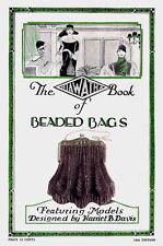 Hiawatha #10 Vintage Knitting & Crochet Patterns for Beaded Purses c.1927