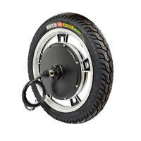 "Ebike Bicycle Front or Rear Integral Motor Wheel 36V/48V 750W/1000W 16"" 18''"