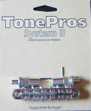 T3BT-N TonePros (Metric Thread) Tune-O-Matic Bridge, Nickel Finish