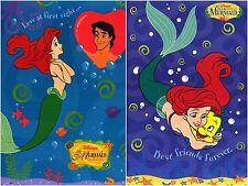 ~(2) Different Little Mermaid Full Size Disney Posters Ariel Under Sea Flounder~