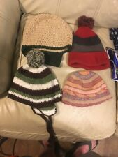 Lot Of Women's Knit Toboggans / Beanies