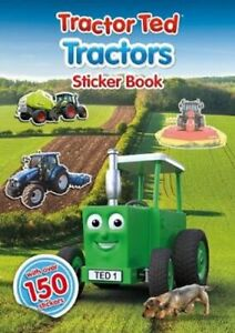 Tractor Ted Tractors Sticker Book by Alexandra Heard 9781916206694   Brand New