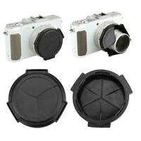 Self-Retaining Auto Open Close Lens Cap For Panasonic Fashion DMC-LX7 Selli N8K5