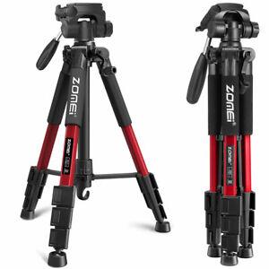 ZOMEi Q111 Aluminium Portable Travel Camera Tripod For Camcorder Phone Universal