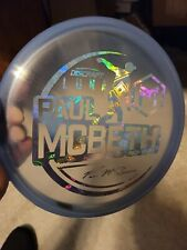 Luna Z Shimmer 2021 McBeth Tour Series $$ Money $$ Foil 173-174g NEW Disc RARE