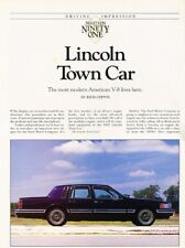 other for lincoln town car manuals and literature for sale ebay rh ebay com New Lincoln Continental 1998 Lincoln Continental Specs
