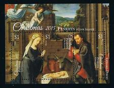 Penrhyn 2015 Christmas Stamp Issue Souvenir Sheet