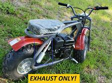Exhaust With Muffler for: Coleman Bt200X 196cc/6.5Hp Gas mini bike.
