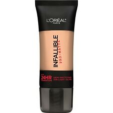 LOREAL Infallible Pro Matte Demi Matte Finish Foundation, Shell Beige 102 NEW