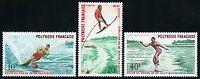 Frz. Polynesien Polynesia 1971 Wasserski WM Water Sports 140-42 MNH