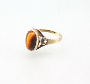 8625183 333er GG Gold Ring Tigerauge Gr.55