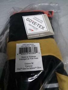 Mountain HardWear Unisex Adult Crux Gore-Tex Infinium Glove Black&Yellow Medium