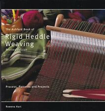 RIGID HEDDLE WEAVING: PROCESS, PATTERNS & PROJECTS (2012) tapestry lace shibori