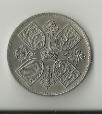 1960 Crown Coin Good Clean Example Free UK P&P