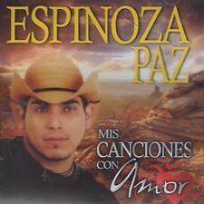 CD - Espinoza Paz NEW Mis Canciones Con Amor 12 Tracks FAST SHIPPING !