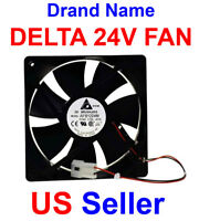 DC 24V 120x120x24 MM Delta Axial Fan AFB1224M 2200RPM 74CFM 0.18A