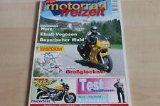 151795) Honda Hornet TEST - Motorrad Freizeit 05/2000