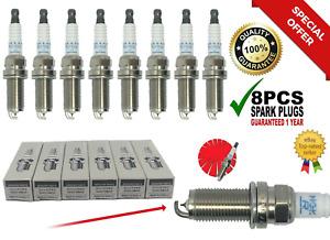 8PCS Laser Iridium Spark Plug PLFR5A11 22401-5M015 FOR VQ35 VQ40 3.5L 4.0 NGK🔥