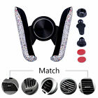 Auto Grip Car Phone Holders Dashboard Stands Crystal Bling Interior Accessories