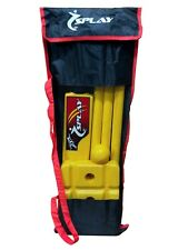 Splay Cricket Kwik Set Suitable for all sizes ages Yellow