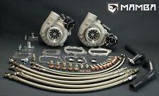 MAMBA Ball Bearing Anti Surge TURBO GTX2871R KIT FOR Nissan VG30DETT 300ZX Z32