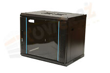 6U Data Wall Cabinet 600mm deep TOWEREZ  36cm H - server rack data FLAT PACK
