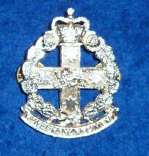 RNSWR HAT BADGE - ANODISED AUSTRALIAN ARMY ROYAL NSW REGT 1980-1990s