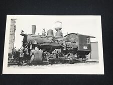 Antique Greater Winnipeg Water District Railroad Train Locomotive No. 7 Photo