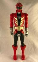 "Power Rangers Super Megaforce Red Ranger 12"" Action Figure - Bandai"