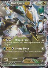 POKEMON B&W BOUNDARIES CROSSED CARD: BLACK KYUREM EX - 101/149 - ULTRA RARE HOLO