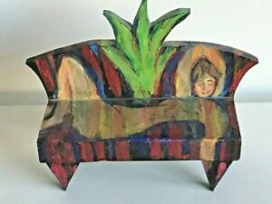 """ARTIST Created Wood Structure """"After"""" Matisse's Pink Nude ~ NUDE ON SOFA ~ ART"""