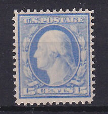 More details for united states 1910-11 15c pale ultramarine unmounted mint - 33014