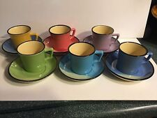 Amazing Demitasse Espresso Cups and Saucers - 6 - MINT